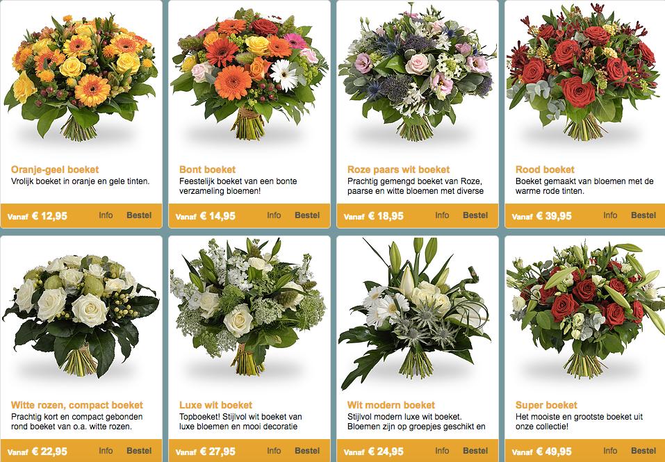 Webshop Marijke bloem en cadeau