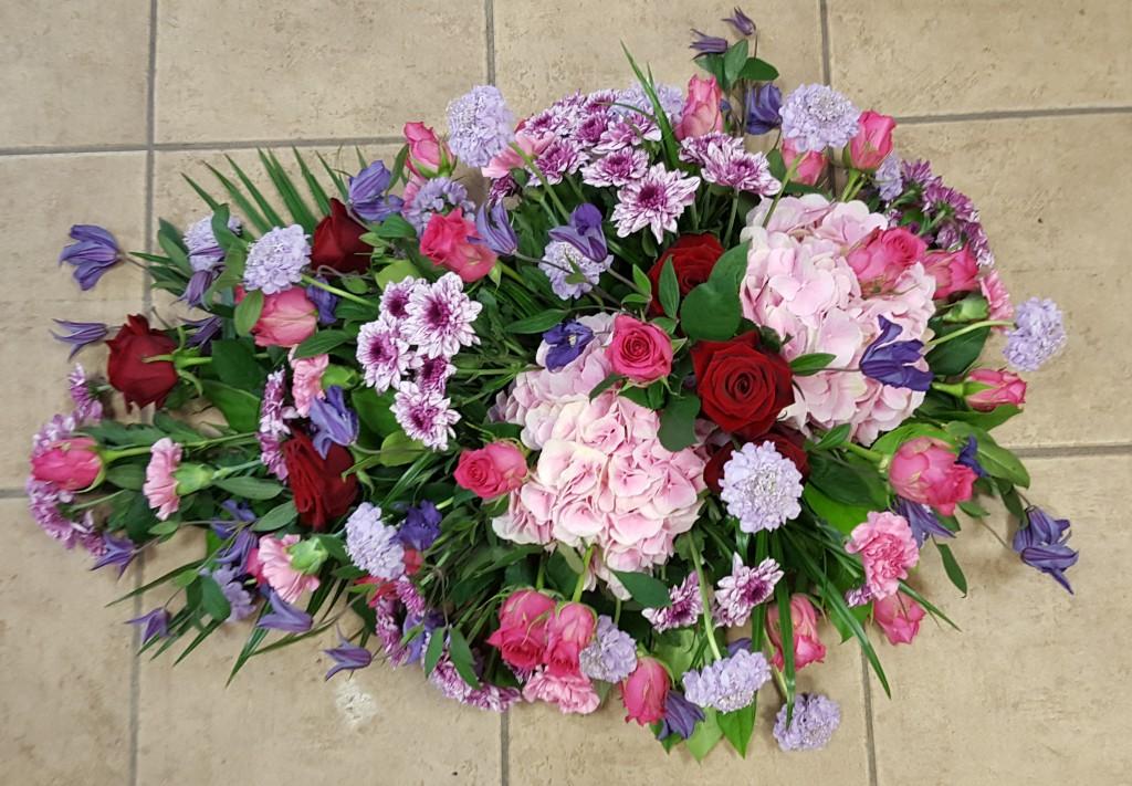 Rouwwerk bij Marijke bloem en cadeau